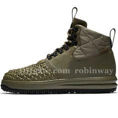 d209e6a39a9a Lunar Force Duckboot Running Shoes Medium Olive Navy Blue Yellow Gum Men S  Sports High Shoes Acronym