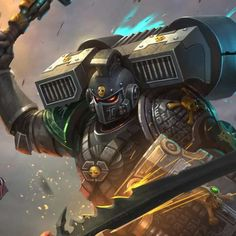 Deathwatch vs Hive Fleet Bahemoth, Fajareka Setiawan https://www.artstation.com/artwork/B6DJA