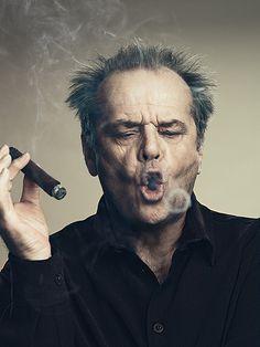 Jack Nicholson/ Sou fã desse cara, a interpretação dele é sensacional, como em the shining! E outros que ele foi sensacional , ele é um dos meus atores que mais respeito!