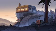 Gravity Falls Background