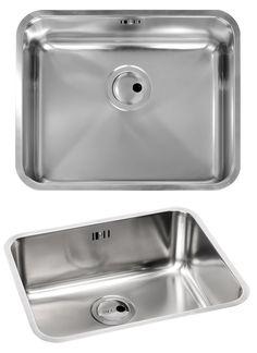 Abode Matrix R50 Large 1 0 Bowl Undermount Kitchen Sink
