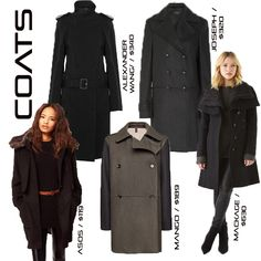 Alexander Wang double-breasted wool trench coat - http://rstyle.me/~7w9x  Joseph new Soho coat - http://rstyle.me/~7w9A  Asos fur collar oversized coat - http://rstyle.me/~7w9o  Mango contrast sleeve masculine coat - http://rstyle.me/ad/n7qyfvwe  Mackage asymmetrical coat - http://rstyle.me/~7w9V