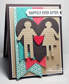Journal It - For the Record, Boy Meets Girl Die-namics, Accent It - Labels and Tabs Die-namics - Jodi Collins Scrapbook Supplies, Scrapbooking Layouts, Scrapbook Cards, Stampin Up, Boy Meets Girl, Valentine Day Crafts, Valentines, Card Sketches, Cool Cards