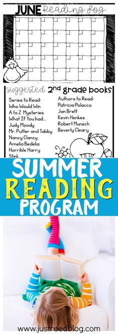 Use this FREE Summer Reading Program to help prevent the summer slide for Kindergarten through 3rd grade