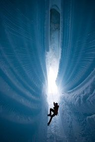 Ice Climb in Greenland