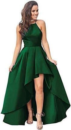 Evening Dresses Online Shopping, High Low Evening Dresses, High Low Formal Dresses, Long Dress Formal, Cute Prom Dresses, Short Dresses, Women's Dresses, Dress Long, Banquet Dresses
