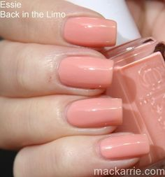 Essie Back In The Limo //MacKarrie