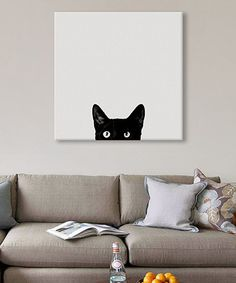 Curiosity Wrapped Canvas | zulily
