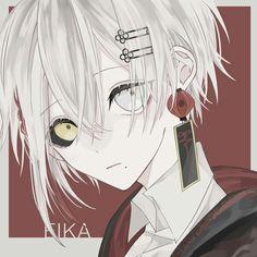 Profile Picture, Cute Anime Boy, Dark Anime, Art Drawings, Drawings, Art, Anime Characters, Boy Art, Manga