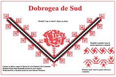 Modele de cusaturi traditionale din Dobrogea | Simona Moon Romania, Cross Stitch, Sewing, Tips, How To Make, Blog, Handmade, Costume, Dreams