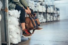 Leather/Denim Travel Bag with selvage denim 25 Oz, shooted at historical Berto denim factories 1887,Italy.#kjoreproject #handmade #japanese #denim #denimlovers #selvadge #venice #florence #milan #naples #nagano #morioka #tokyo #senday #hongkong #macao #benxi #suzhou #beijing @kjoreproject