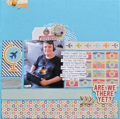 Are We There Yet? - Community Layouts - Gallery - Get It Scrapped | Christy Strickler