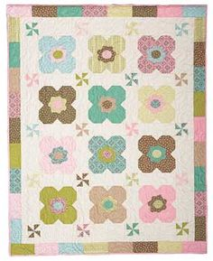 Daisy Dance Baby Quilt Pattern Download