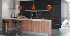 ¡Para muchos la estancia favorita de la casa es la cocina! Y las islas triunfan en ellas. Este elemento contribuye a que la #cocina se convierta en centro neurálgico de la #casa