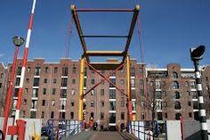 Panoramio - Photo of Ophaalbrug van Plantage naar Entrepotdok, Nijlpaardenbrug, Amsterdam.