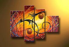 Cuadros Abstractos Modernos En Acrilico  Texturados-relieves - $ 1.499,99 Mural Wall Art, Diy Wall Art, Diy Art, Canvas Wall Art, Abstract Oil, Abstract Wall Art, Art Room Posters, Simple Art, Large Art