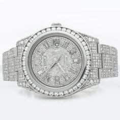 diamond products mens com watches avenger watch super icedtime chronograph