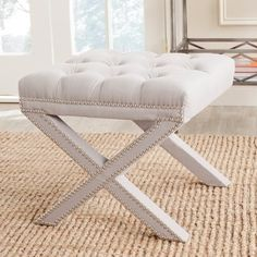 Shop for Safavieh Patrice Taupe Ottoman. Get free shipping at Overstock.com - Your Online Furniture Outlet Store! Get 5% in rewards with Club O!