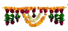 Cloth Flower Door Toran (Silk Cloth)
