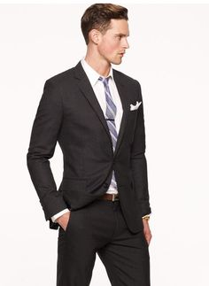 Suit that transitions into spring