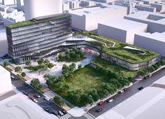 Cummins Indianapolis Office   Indianapolis, Indiana   Former Market Square site   mix-use   Market East Indy   Deborah Berke Partners   #urban #design #architecture   opening Spring 2016 >> via IBJ.com