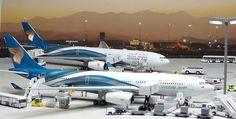 Oman Air Airbus A332 or A333..