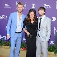 Lady Antebellum at the 47th Annual Academy of Country Music Awards at the MGM Grand in Las Vegas on April 1, 2012.