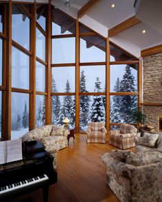 1000 images about prow windows on pinterest lindal for Log cabin sunroom additions