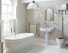 100+ ASTONISHING FARMHOUSE BATHROOM TILE SHOWER DESIGN IDEAS #bathroom #farmhouse