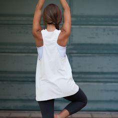 Breathe Freely Tank -- Ivory