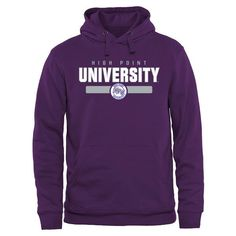 High Point Panthers Team Strong Pullover Hoodie - Purple - $44.99