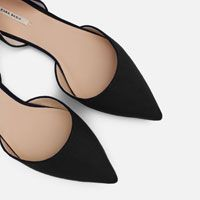 Image 5 of D'ORSAY FLATS WITH METAL DETAIL from Zara