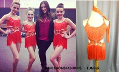 Dance Moms costume for trio of chloe maddie and kendall we beilieve.