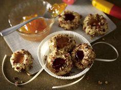 Unser beliebtes Rezept für Thumbprint-Cookies und mehr als 55.000 weitere kostenlose Rezepte auf LECKER.de.