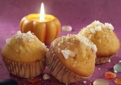 Muffini s bundevom — Recepti — Coolinarika Family Meals, Sweet Recipes, Muffins, Good Food, Food And Drink, Cupcakes, Sweets, Breakfast, Halloween