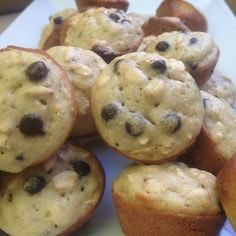 Mini oatmeal chocolate chip muffins - 2 Smart Points each