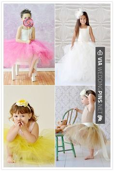 Wow - so precious !! my flower girls will totally wear tutus ! | CHECK OUT MORE GREAT FLOWER GIRL AND RING BEARER PHOTOS AND IDEAS AT WEDDINGPINS.NET | #weddings #wedding #flowergirl #flowergirls #rings #weddingring #ringbearer #ringbearers #weddingphotographer #bachelorparty #events #forweddings #fairytalewedding #fairytaleweddings #romance