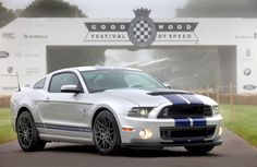2013 Ford Mustang Shelby GT500 at Goodwood