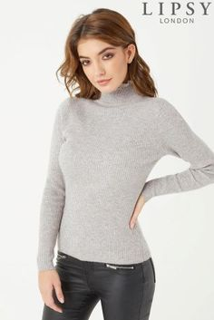 39353941bcc0 Buy Lipsy Frill Turtle Neck Jumper from the Next UK online shop