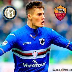 Patrik #Schick diviso tra #Inter e #Roma. Dove andrà alla fine l'attaccante ceco?  #seriea #campionato #campionatoitaliano #mercato #samp #sampdoria #calciomercato #calcio #offerta #trasferimento #asroma #fcinter
