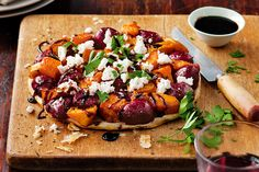 Halfway between a pizza and a pie, this vegetarian tarte tatin makes a budget-friendly weeknight meal.