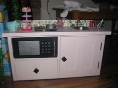 DIY with IVY: American Girl Kitchen