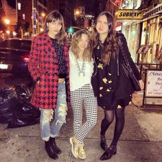 Great times last night with these tall Bandits. @Natalie Suarez @Dylana Suarez #the2bandits #NYC