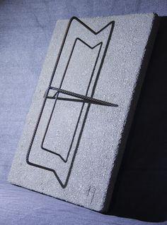 Sunken Steel - The Cross Sculpture Concrete Sculpture, Steel Sculpture, Abstract Sculpture, Abstract Art, Steel Art, Frozen In Time, Buy Art, Saatchi Art, Art Projects