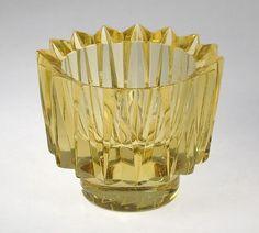 Kruunu (Crown) 6569 - Okkolin, Aimo Lassi, Glass Design, Candlesticks, Finland, Decorative Bowls, Glass Art, Candle Holders, Sculptures, Perfume Bottles