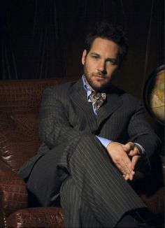 Paul Rudd -apparently he chills out where I work frequently!