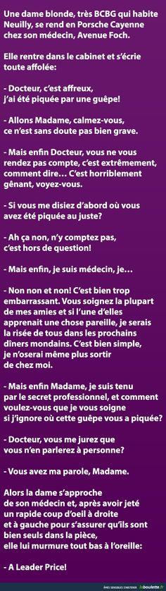 Une dame blonde, très BCBG qui habite Neuilly... | LABOULETTE.fr - Les meilleures images du net!