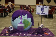 RELAY FOR LIFE - Paint Your World Purple - Debbie Buchanan