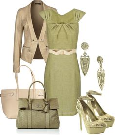 """Spring work wear"" by amabiledesigns on Polyvore"