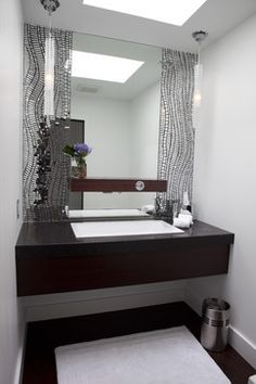Classic Contemporary Residence contemporary bathroom